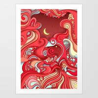 Dream Weave Art Print