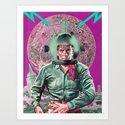 SPACE PLUMBER (I need a hero) Art Print