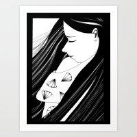 Sombre Art Print