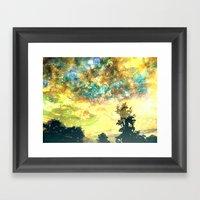 Stirring Starry Night Framed Art Print