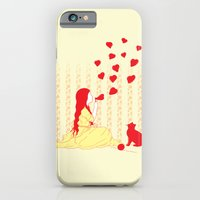 iPhone & iPod Case featuring Bubbly Hearts by pigboom el crapo