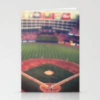 At the Ballpark   Stationery Cards