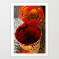 Tomato Can Art Print