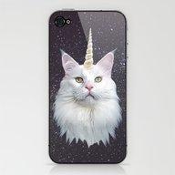 Unicorn Cat iPhone & iPod Skin