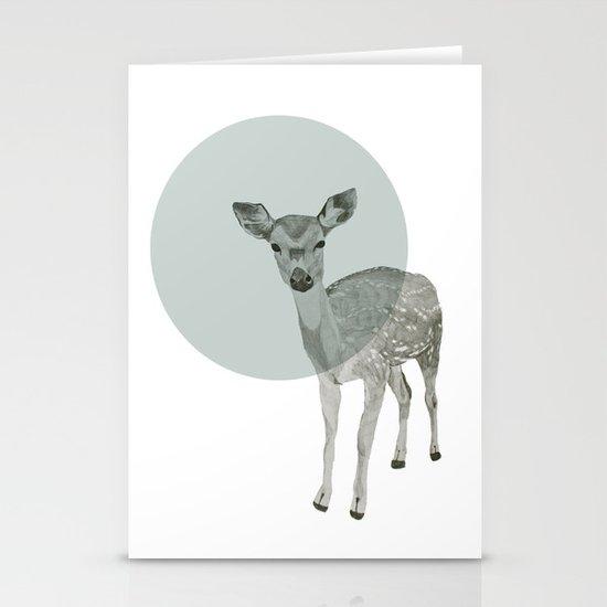 deer Stationery Card