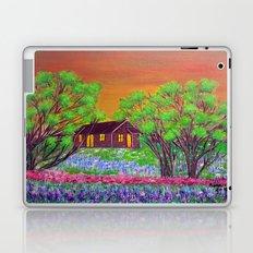 Meadow in the Sunrise Laptop & iPad Skin