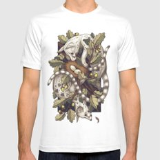 Spades Mens Fitted Tee SMALL White