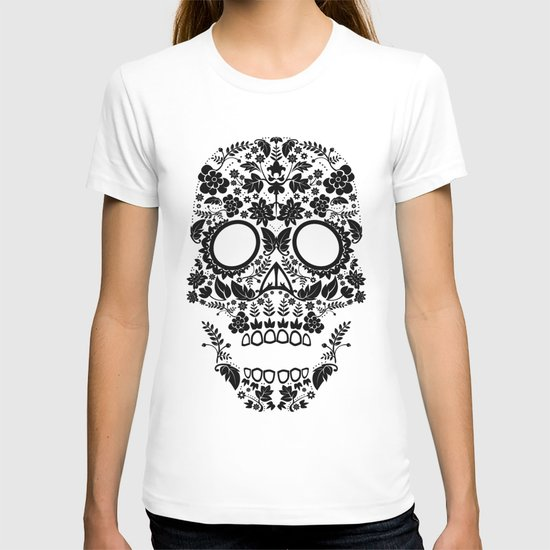 Day of the Dead Skull No.12 T-shirt