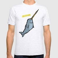 I Wish I Was A Unicorn Mens Fitted Tee Ash Grey SMALL