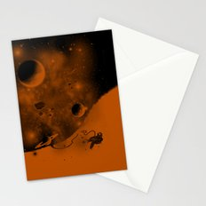 Lost in Negative Space Stationery Cards