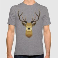 Polygon Heroes - The Kin… Mens Fitted Tee Tri-Grey SMALL