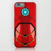 iPhone Cases featuring IRON MAN Iron man Body Armor by aleha