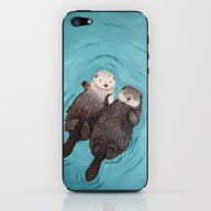 Otterly Romantic - Otter… iPhone & iPod Skin