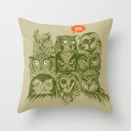 Wisdom To The Nines Throw Pillow