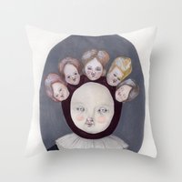 Dutch Disease Throw Pillow