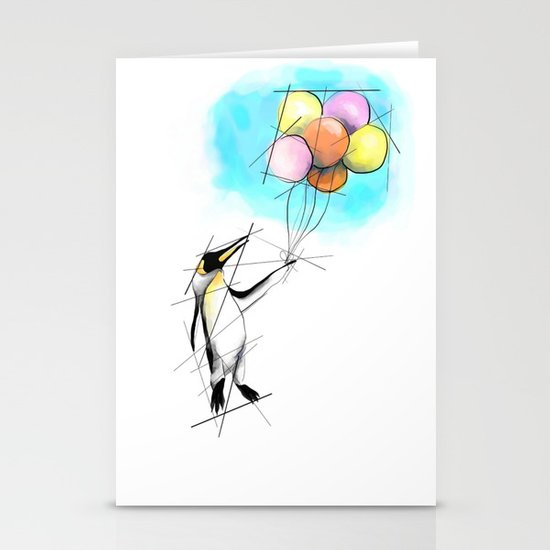 Let There Be Flight Stationery Card