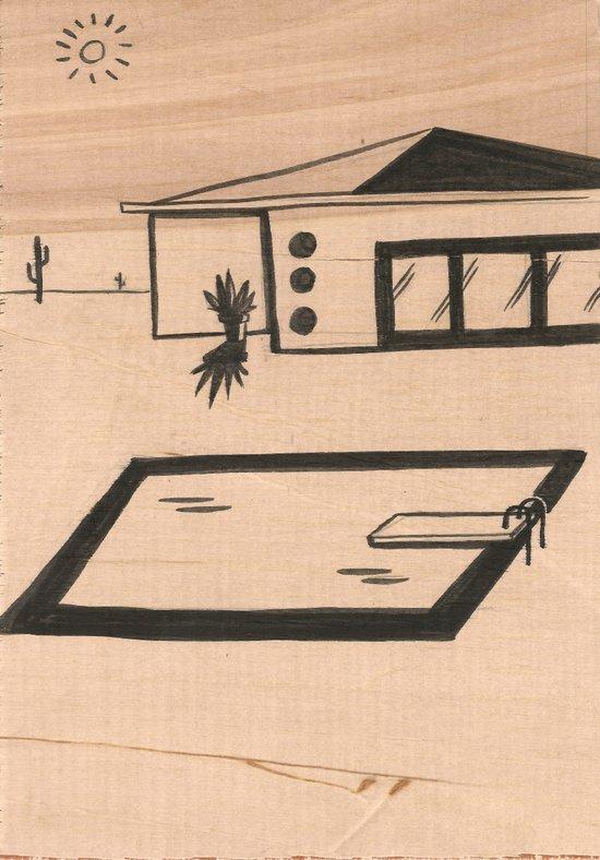 Pool #1 Art Print