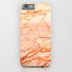 Peach Marble iPhone 6 Slim Case