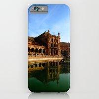 iPhone & iPod Case featuring Plaza de España by Ananya Ghemawat