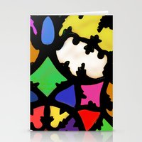 turkish in bright colors Stationery Cards