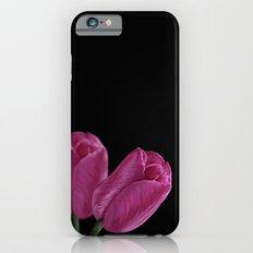 Pink Tulips Slim Case iPhone 6s