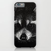 iPhone & iPod Case featuring The Curious Raccoon by Nathan Cole