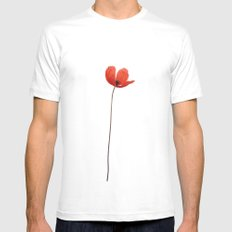 Simply poppy 2014 SMALL Mens Fitted Tee White