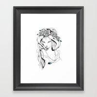 Poetic Gypsy Framed Art Print