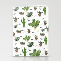 PLANTS ARE MY FRIENDS Stationery Cards