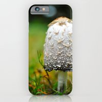iPhone & iPod Case featuring Fluffy mushroom by Charlotte Keirle