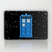 TARDIS In Space Laptop & iPad Skin