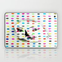 VENUS IN HIRSTIAN DOTS Laptop & iPad Skin