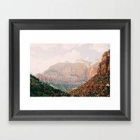 Zion National Park 1 Framed Art Print