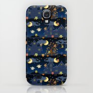 Halloween Owls Galaxy S4 Slim Case