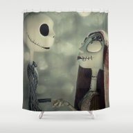 Shower Curtain featuring Take My Hand (Nightmare … by LT-Arts