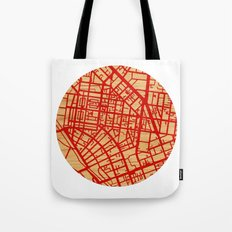 Map of the Town Tote Bag