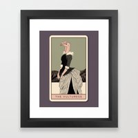 Vulture Framed Art Print