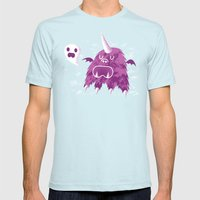 The Unibeast Speaks Something Ghastly Mens Fitted Tee Light Blue SMALL