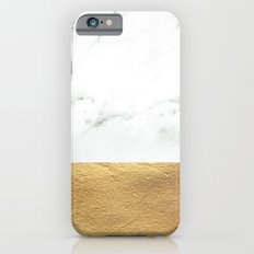 Color Blocked Gold & Mar… iPhone 6 Slim Case