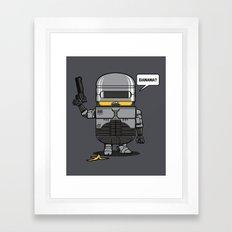 Despicable Law Enforcer Framed Art Print