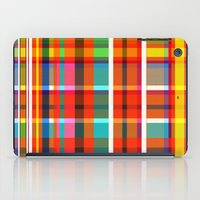 Madras Bright Check iPad Case