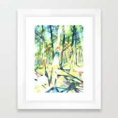 Scenes from the Forest Framed Art Print
