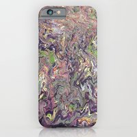 purple rain iPhone 6 Slim Case