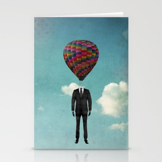 balloon man Stationery Card