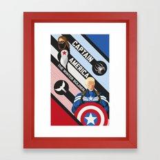 The Winter Soldier Framed Art Print
