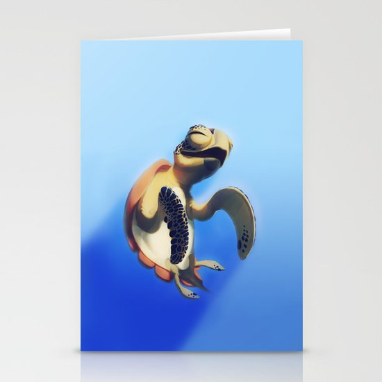 Turtle Stationery Card
