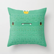 King Yeti Throw Pillow