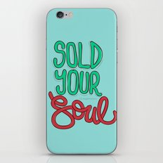 Sold Your Soul iPhone & iPod Skin