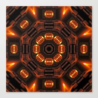 The Time Portal Of Histo… Canvas Print