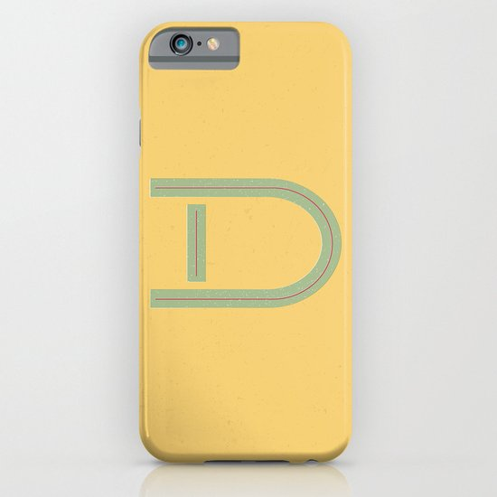 D 001 iPhone & iPod Case